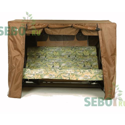 SEBO Чехол укрытие для садовых качелей Капри Шоколад