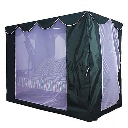 Тент крыша SEBO с антимоскитной сеткой для качелей Элит Люкс