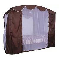 Тент крыша SEBO с актимоскитной сеткой для качелей Золотая Корона
